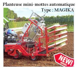 Planteuse mini-mottes automatique