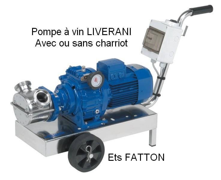 Pompe à vin LIVERANI