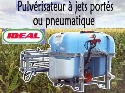 Pulvérisateur à jets portés ou pneumatique IDEAL