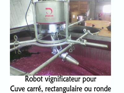 Robot vignificateur