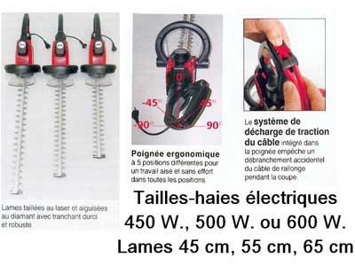 Taille-haie électrique
