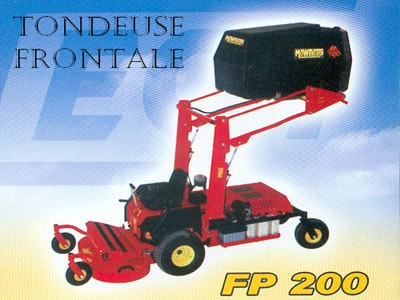 Tondeuse frontale