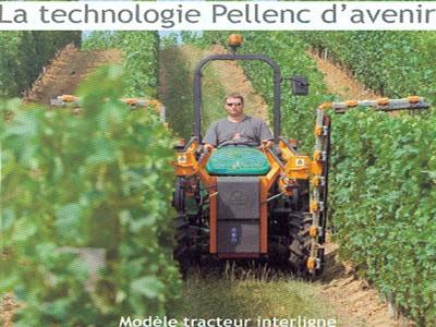Tracteur interligne