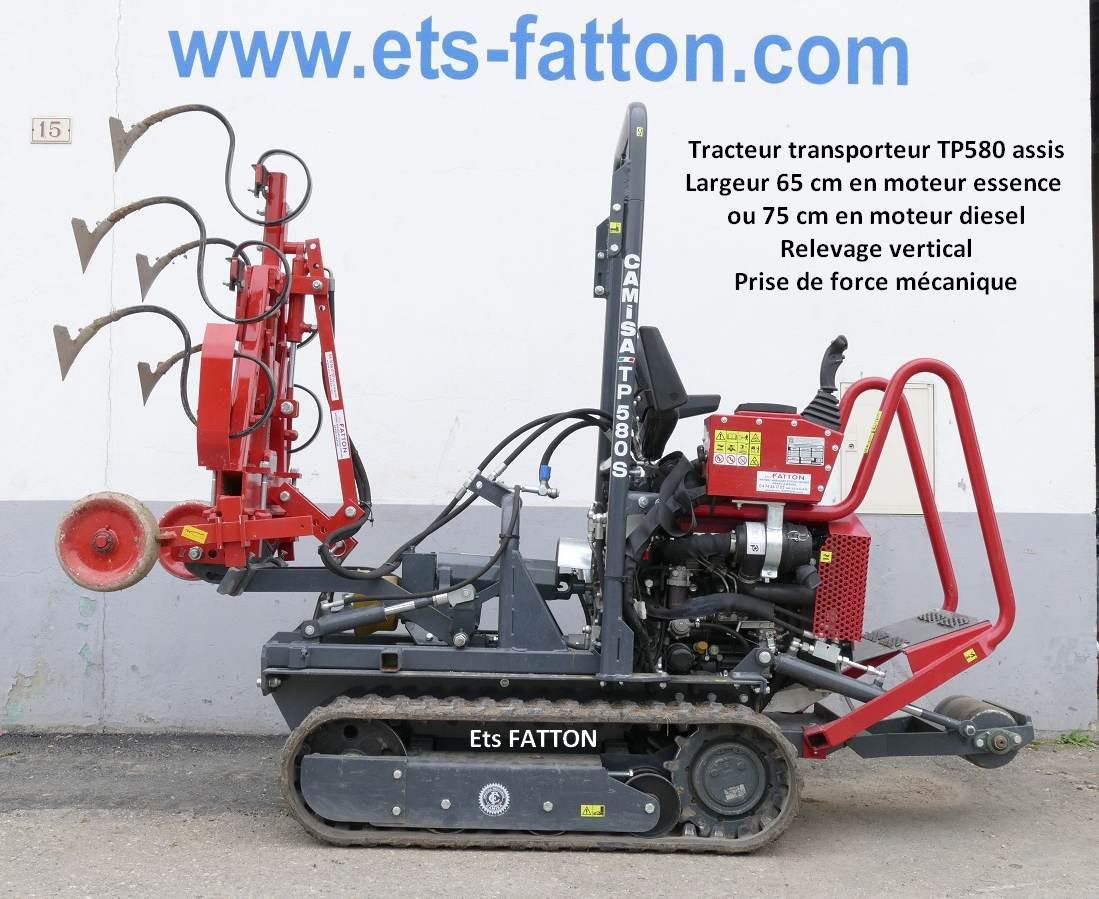 Tracteur transporteur TP580 assis