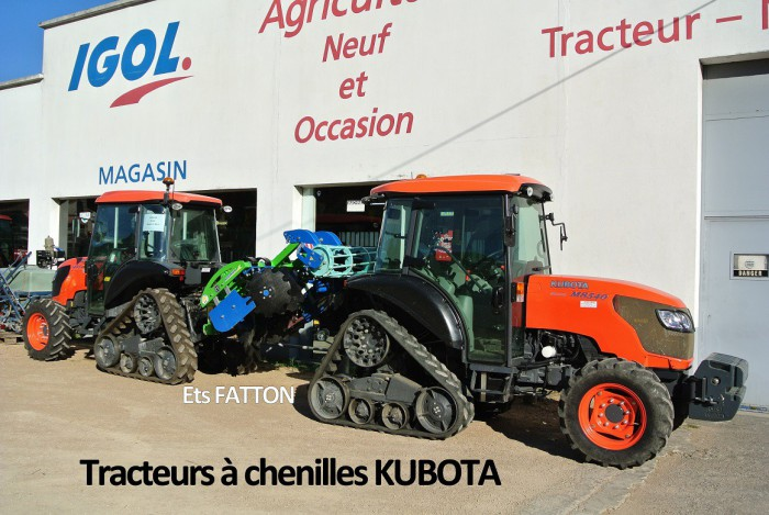 Tracteurs à chenilles KUBOTA
