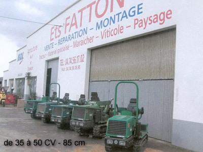 Tracteurs à chenilles