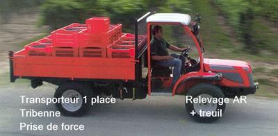 Transporteur 1 place