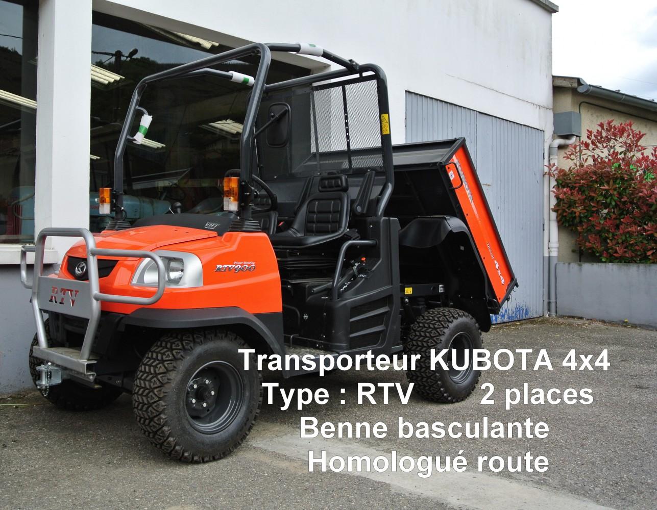 Transporteur KUBOTA 4x4