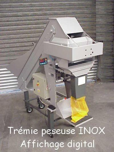 Trémie peseuse INOX